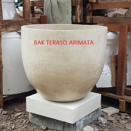 harga bak mandi gentong terrazzo arimata